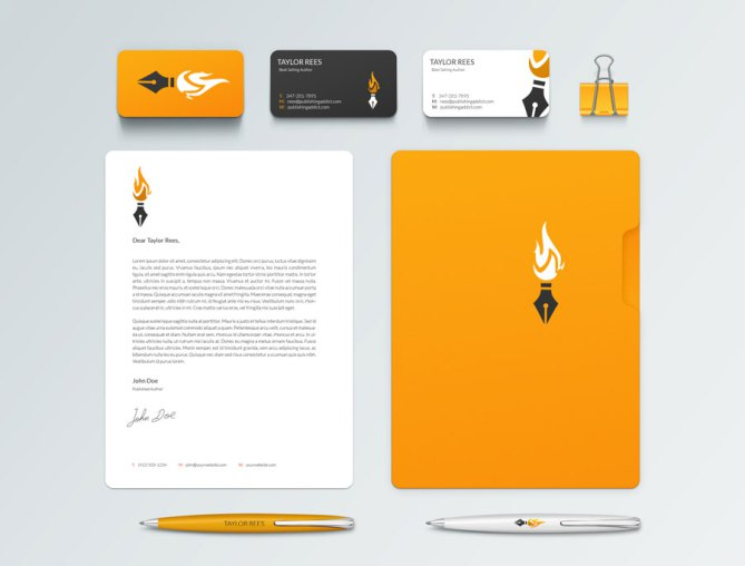 business-card-author